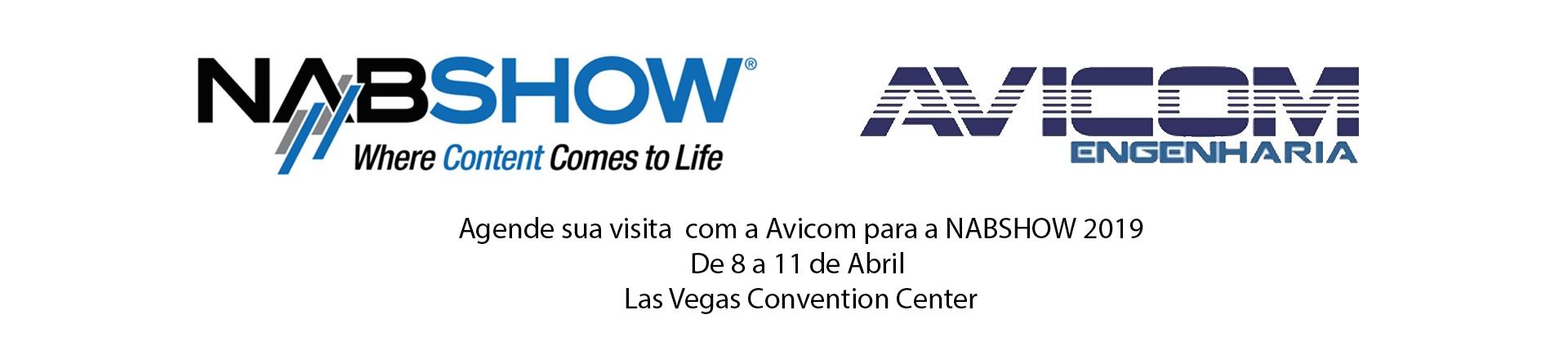 Avicom Engenharia - Avicom estará na NAB Show