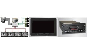 Sistema de segurança, C2 – Comando e Controle oincluindo gerenciamento de vídeo, roteadores de vídeo e Displays de vídeo