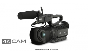 GY-HM200U - 4KCAM COMPACT HANDHELD CAMCORDER w/ INTEGRATED 12X LENS