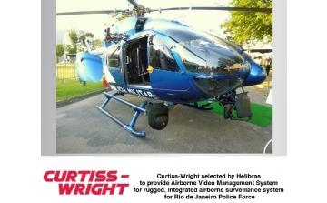 Fornecimento de sistemas de gerenciamento de vídeo para Helicópteros da Polícia do Rio de Janeiro.