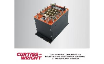 Curtiss-Wright e Embraer irão demonstrar sistemas de Flight Test Instrumentation na feira Farnborough Airshow