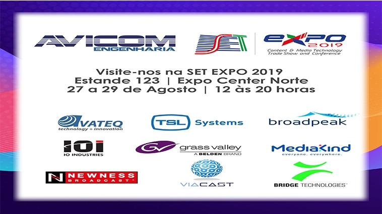 Visite o stand da Avicom na feira SetExpo 2019